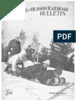 18342-a-0 D&H Railroad Bulletin