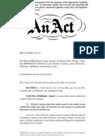 Colorado Senate Bill 09-174
