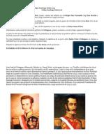 Breve resumen de la biografía de Felipe Santiago Salaverry