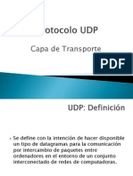 Protocolo UDP Redes