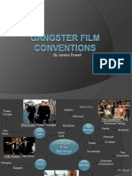 Gangster Film Conventions