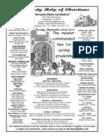 Parish Bulletin for September 22, 2013-13