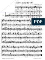 Bach - Jesus Bleibet Meine Freude (CORAL)