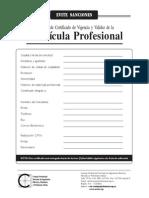 Solicitud Certificado Vigencia Ing.electrico