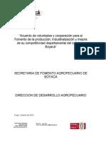 1. Acuerdo Competitividad Cacao.