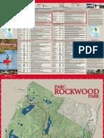 Rockwood Park Trail Brochure 2013