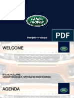 2014 Range Rover Evoque With 9-Speed Transmission and Active Driveline Technical Presentation