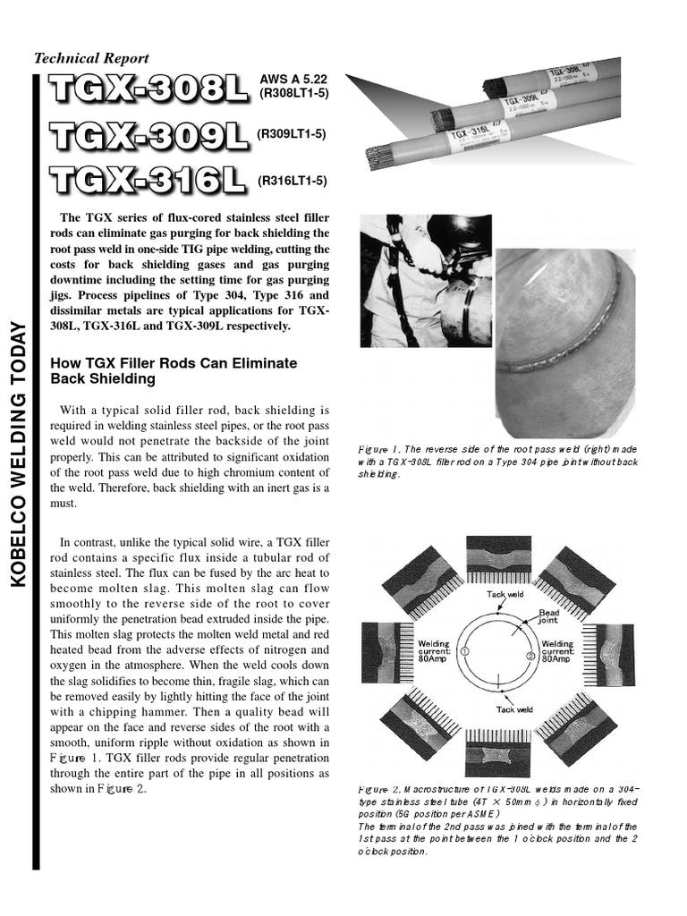 TGX TEchnical Report | Welding | Metals