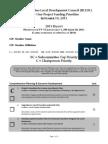 FINAL - 2013 Baltimore LDC Project Ballot
