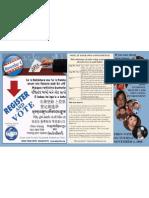 2008 Register and Vote Poster - Ohio, multilingual