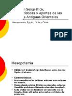 Síntesis Geográfica e Histórica y los aportes de