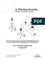 Emerson Wireless Security - WirelessHatrt and Wi-Fi