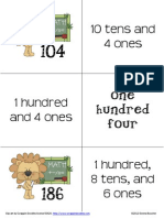 Place Value Matching Intermediate