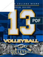 2013 Women's Volleyball Media Guide