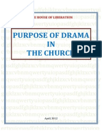Purpose of Drama in the Church