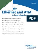 Gigabit Ethernet and ATM