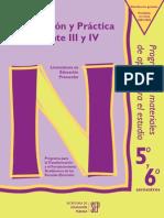 Observacion y Practica Docente III y IV Preescolar
