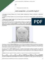 Caso del muerto con cuatro pasaportes_ ¿Un pedófilo fugitivo?