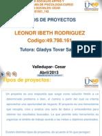 Punto2 Tipos de Proyectos Leonor Ibeth Rodriguez