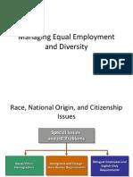 Managing Equal Employment