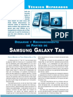 innovative design 837bd f2e17 Desarme Galaxy Tab