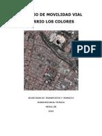 Analisis Movilidad Barrio Los Colores