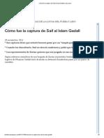 Cómo fue la captura de Saif al Islam Gadafi _ Libia