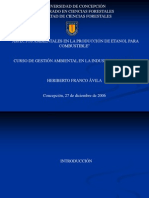 gestión ambiental en la producción de bioetanol
