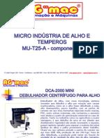 APRESENTAÇÃO DA MICRO INDÚSTRIA DE ALHO E TEMPEIROS-red