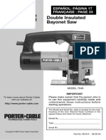 Porter-Cable MODEL 7549igsaw