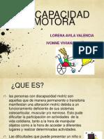 DISCAPACIDAD MOTORA E1 Práctik X