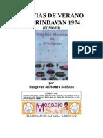 Lluvias de Verano en Brindavan 1974 (III)