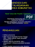 Pnemonia  Komunitas