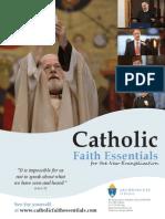 Catholic Faith Essentials 2013-2014 Flyer