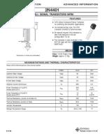 2n4401 - Small Signal Transistors Npn