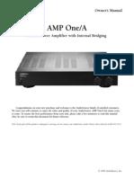 amplifier manual