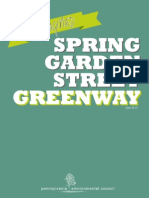 Philadelphia's Spring Garden St. Greenway Master Plan