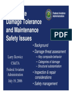 Composite Damage Tolerance and Maintenance Safety Issues_FAA