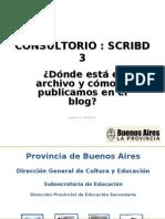 Scribd 3 - Dónde está el archivo y cómo lo pulicamos en el Blog