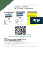 ANDROID - Recalculo Placa Orificio