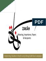 Zakah Presentation