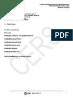 808 Anexos Aulas 36813 2013-09-18 Discursiva Agu Parecer 091913 Agu Direito Administrativo Aula 01 e 02 Parecer