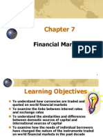 ppt of financial market