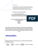 Antiespasmodico Mecanismo de acción