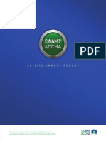 CAAMP 2012:2013 Annual Report