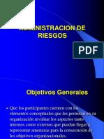 Auditoria_informatica-Clase 2 Segunda Parte Administracion de Riesgos