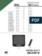 Diagrama de TV Sony KV-27S40