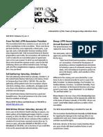 LFPR Newsletter Fall 2013