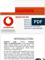 Vodafone Marketing Mix Ppt (2)