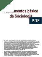 Fundamentos básico da Sociologia